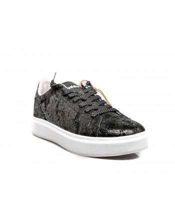 LOTTO LEGGENDA -  IMPRESSIONS CRACK Sneakers - Black