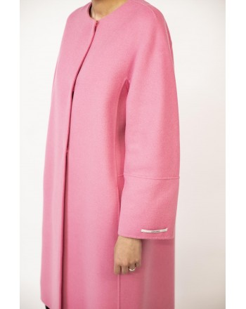 S MAX MARA - Cappotto in Lana ARISTO  - Intense Pink