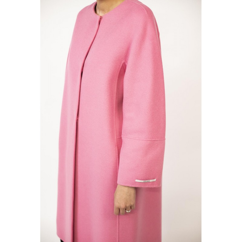 S MAX MARA - Wool Coat ARISTO  - Intense Pink