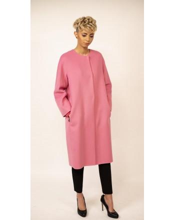S MAX MARA - Wool Coat ARISTO  - Intense Pink