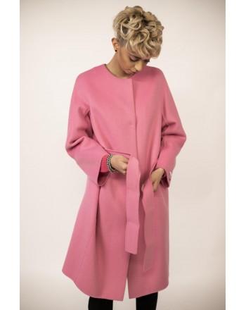 S MAX MARA - Cappotto in Lana ARISTO  - Intense Pink