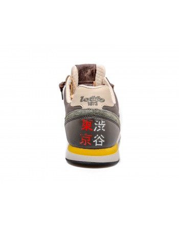 LOTTO LEGGENDA - Sneakers TOKYO SHIBUYA - Army/Nero