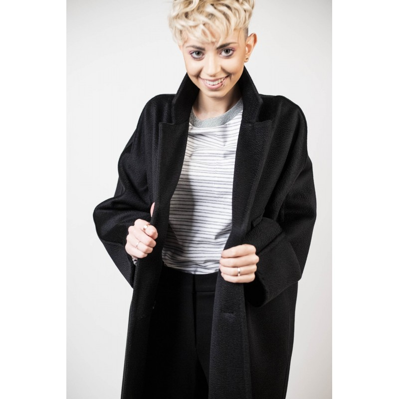 MAX MARA - Coat  ZELIG - Black