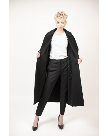 MAX MARA - Coat  ZELIG - Black