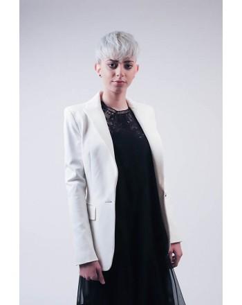 PINKO - SIGNUM Viscose jacket White