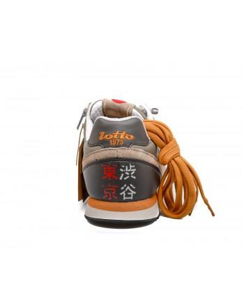 LOTTO LEGGENDA - Sneakers TOKYO SHIBUYA - Beige/Nero