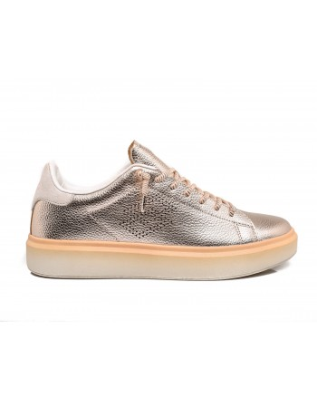 LOTTO LEGGENDA - Sneakers IMPRESSIONS METAL - Bronzo rose