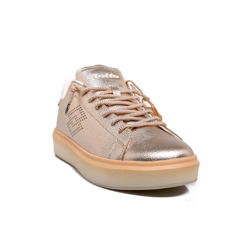 LOTTO LEGGENDA -  IMPRESSIONS METAL Sneakers - Pink Bronze