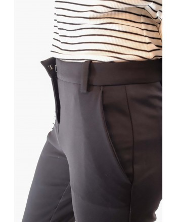 PINKO -   BELLO66 Trousers in Punto Milano - Black