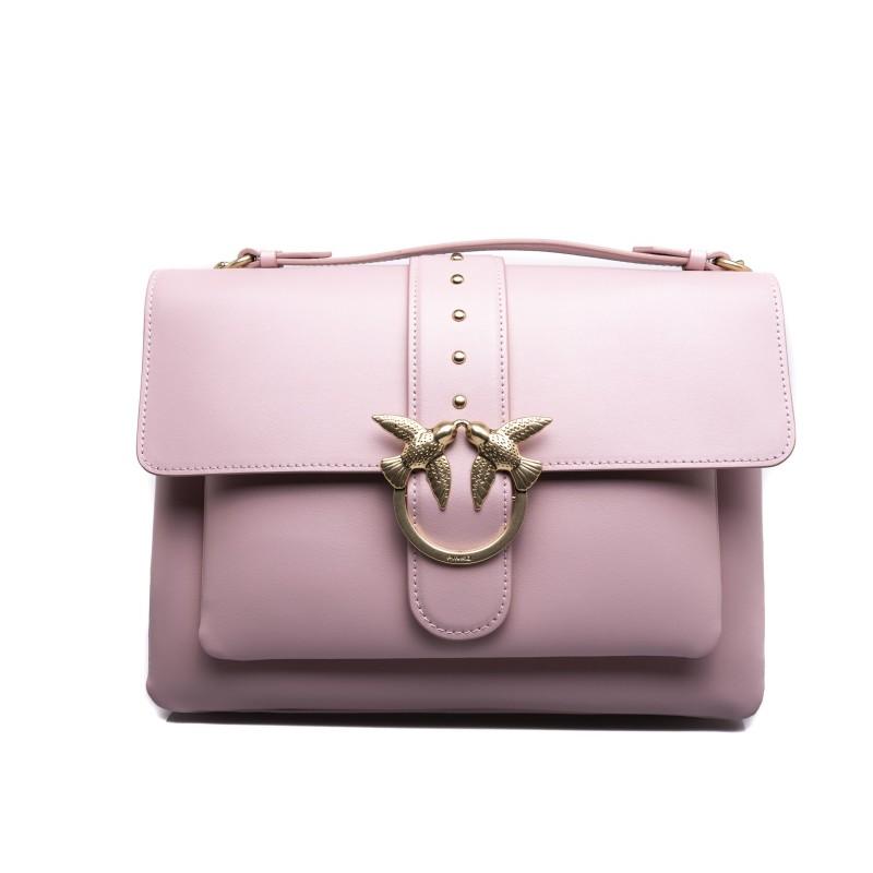 PINKO -  BIG LOVE SIMPLY Bag - Light Pink