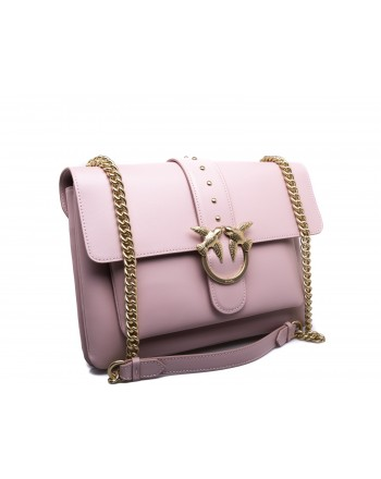 PINKO -  BIG LOVE SIMPLY Bag - Light Pink
