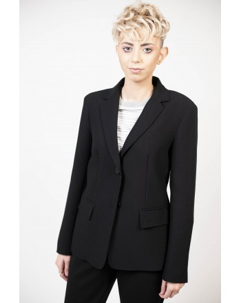 WEEKEND MAX MARA - Two Buttons Jacket - Black