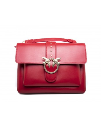 PINKO -  BIG LOVE SIMPLY Bag - Red