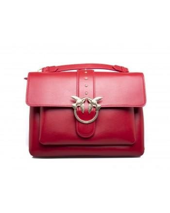 PINKO -  BIG LOVE SIMPLY Bag - Red