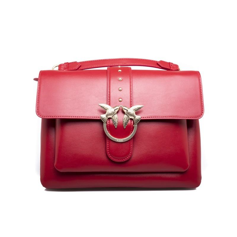 PINKO - Borsa BIG LOVE SIMPLY - Rosso