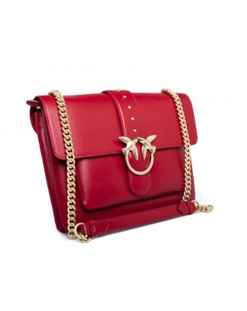 PINKO - Borsa BIG LOVE SIMPLY - Rosso