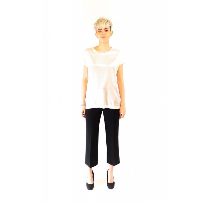 PINKO -  Stretch Silk Blouse FARISA - White