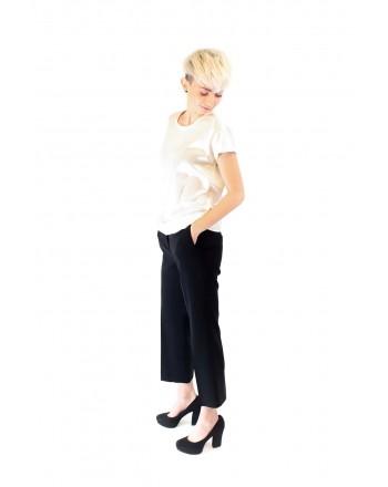 PINKO - Blusa in Seta Stretch FARISA - Bianco
