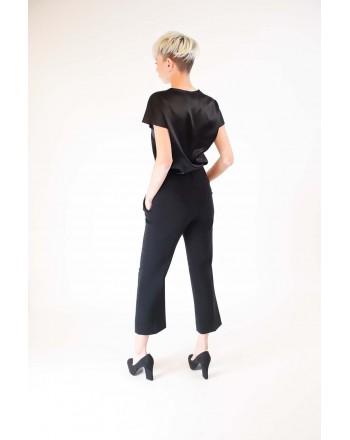 PINKO - Stretch Silk Blouse  FARISA - Black