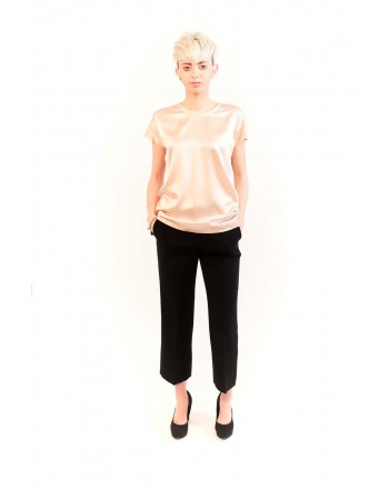 PINKO - Blusa in Seta Stretch FARISA - Rosa