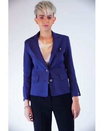 PINKO - AMMIREVOLE jacket Punto Milano  - Blue