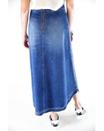 PHILOSOPHY di LORENZO SERAFINI - Gonna jeans Denim lunga - Denim