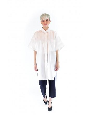 MAX MARA - Cotton Poplin Shirt - White