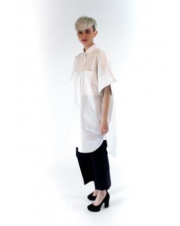 MAX MARA - Camicia in cotone popeline - Bianco