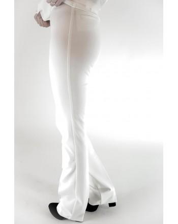 PINKO - ALLIEVO full Milano trousers - White