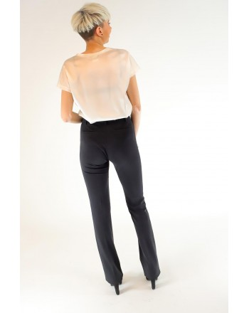 PINKO - ALLIEVO full Milano trousers - Black