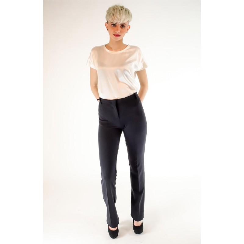 PINKO - Full Milano FURBO Trousers - Black
