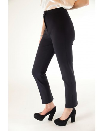 PINKO - Pantalone FURBO in punto stoffa - Nero