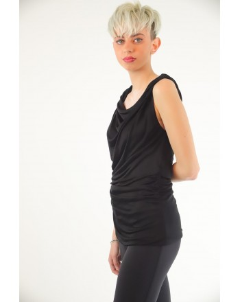 PINKO - Tank Top in Viscose - Black