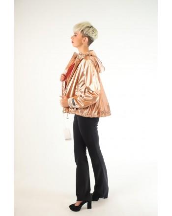 PINKO - Rainproof Jacket with Hood TREKKING  - Pink