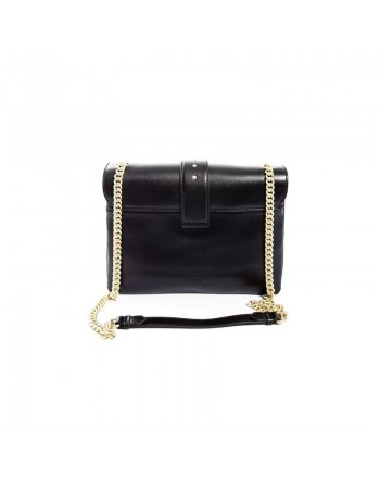 PINKO - Borsa in Pelle BIG LOVE SOFT - Nero