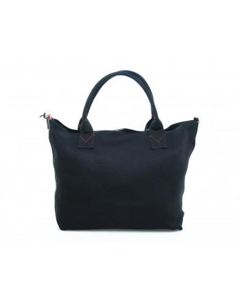 PINKO - Crispo Canvas Shopping Bag - Blue