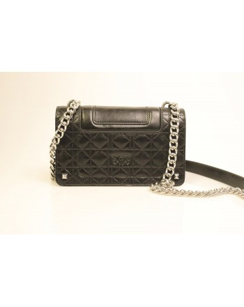 PINKO - IDILLIO Leather bag - Black