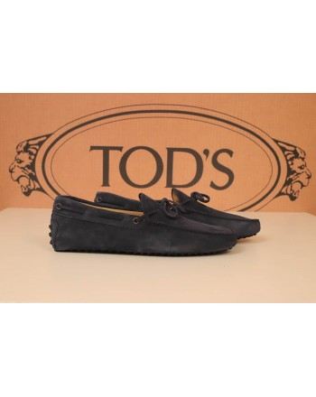 TOD'S - Leather Moccasin - Blue