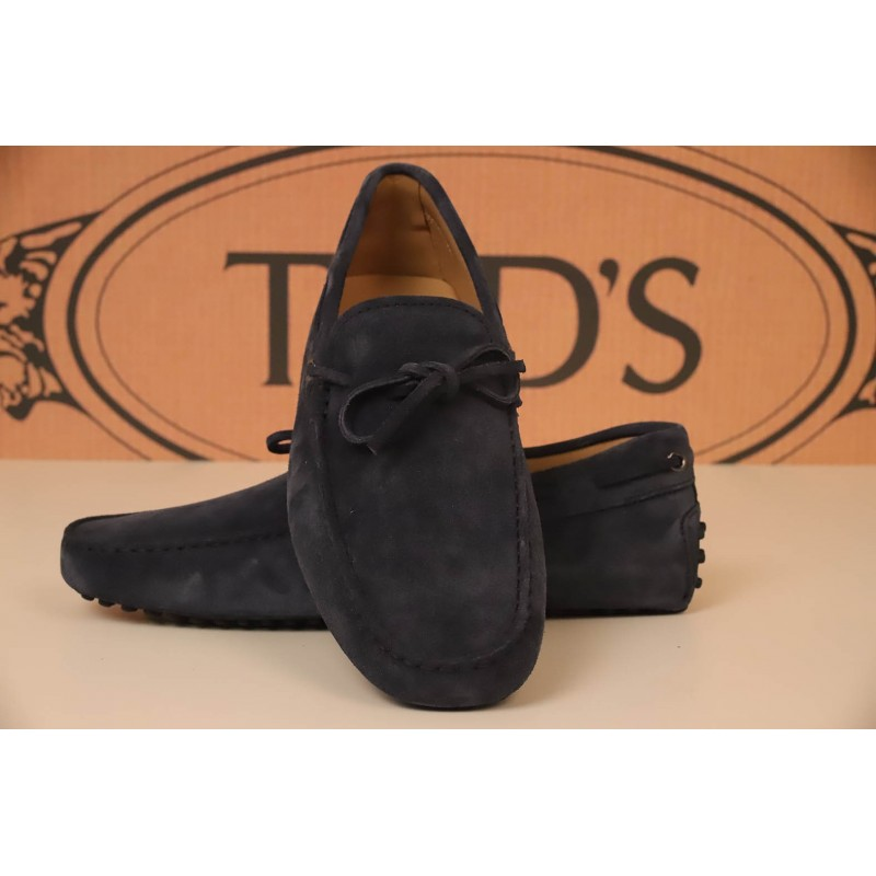 TOD'S - Mocassino in pelle - Blu
