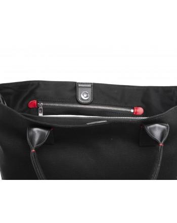 PINKO - Crispo Canvas Shopping Bag - Black