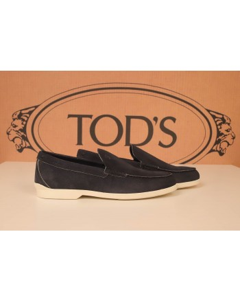 TOD'S - Suede Loafers  - Blue