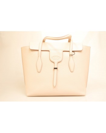 TOD'S - TOD'S - Leather Shopping Bag - Pink