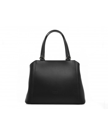 PINKO - AVOSSA Bag in veal and silk - Black