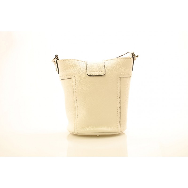 TOD'S - Leather Bag - White