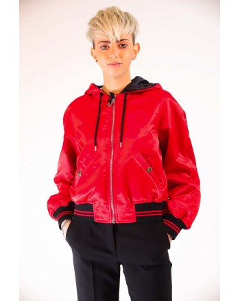 PINKO -   REGALE Bomber Jacket  - Red/Black