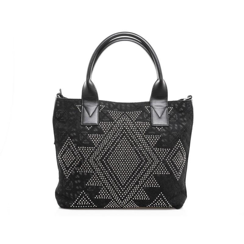 PINKO - Baitou Shopping Bag - Black