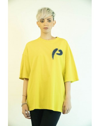 PINKO - PINKOSO Jersey T-Shirt - Green