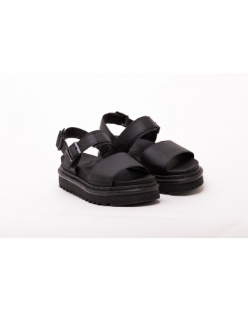 DR. MARTENS - Leather Sandal VOSS - Black