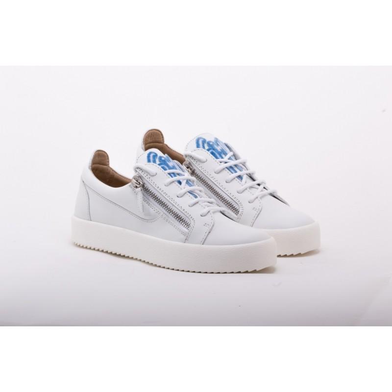 GIUSEPPE ZANOTTI - Sneakers Low Top FRANKIE - Bianco
