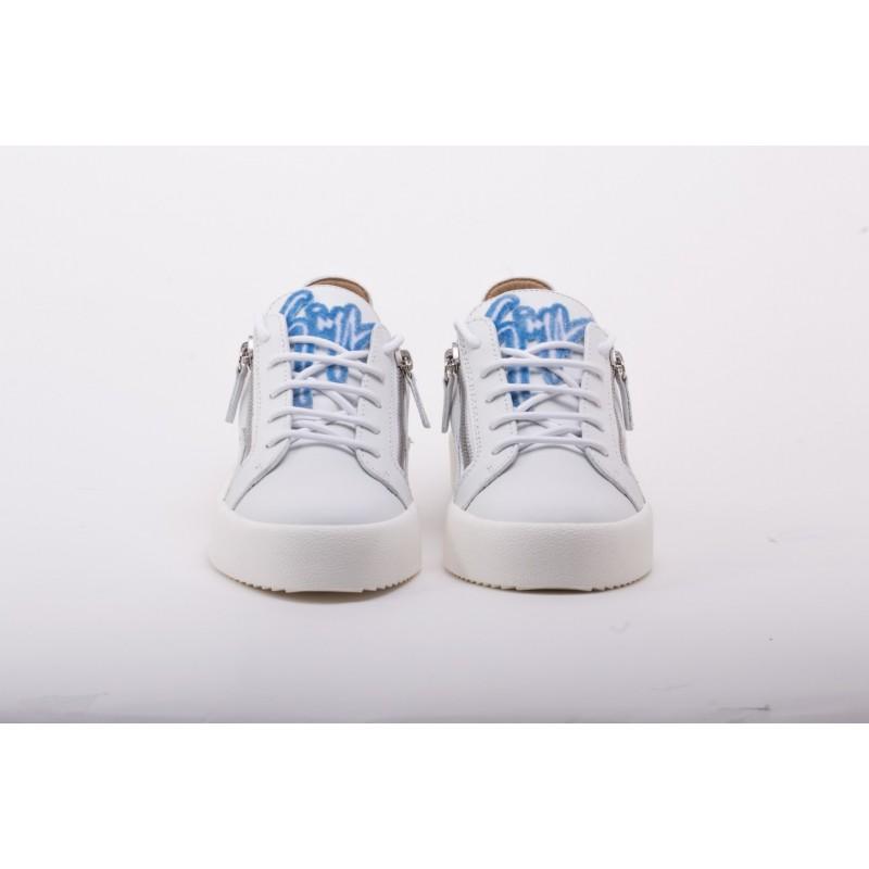 GIUSEPPE ZANOTTI - Sneakers Low Top FRANKIE - White